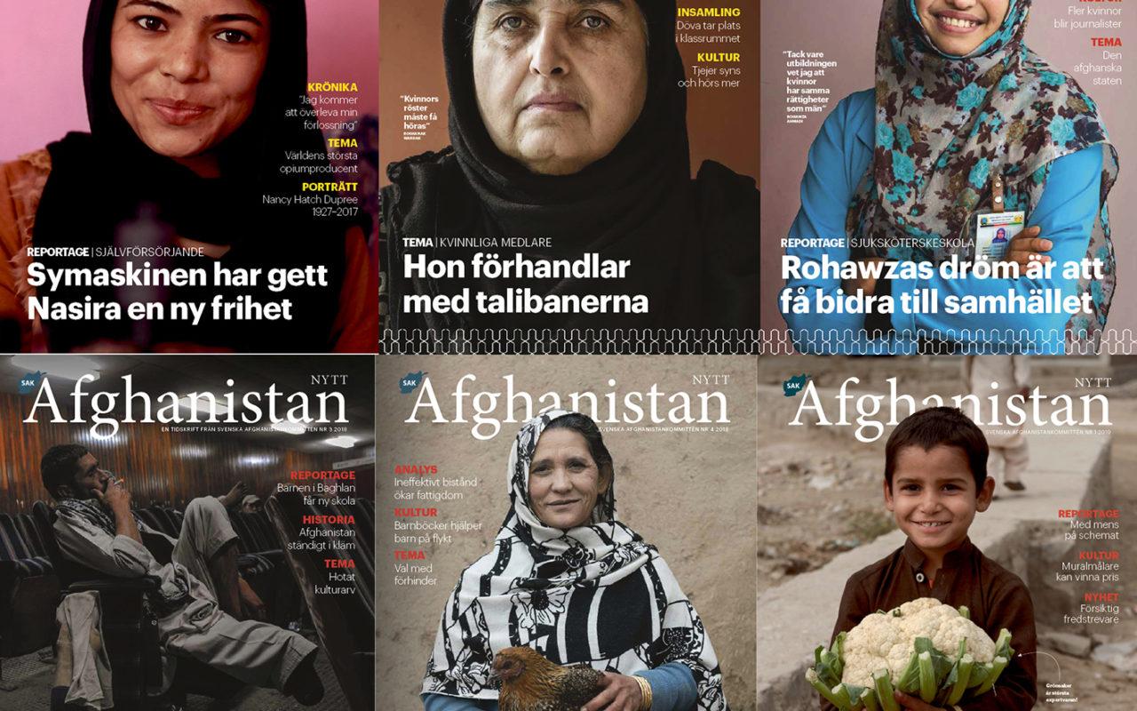 Omslag Afghanistan-nytt