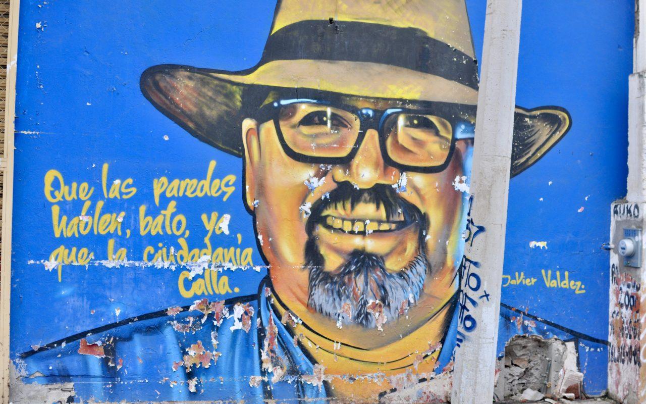 muralmålning av Javier Valdez