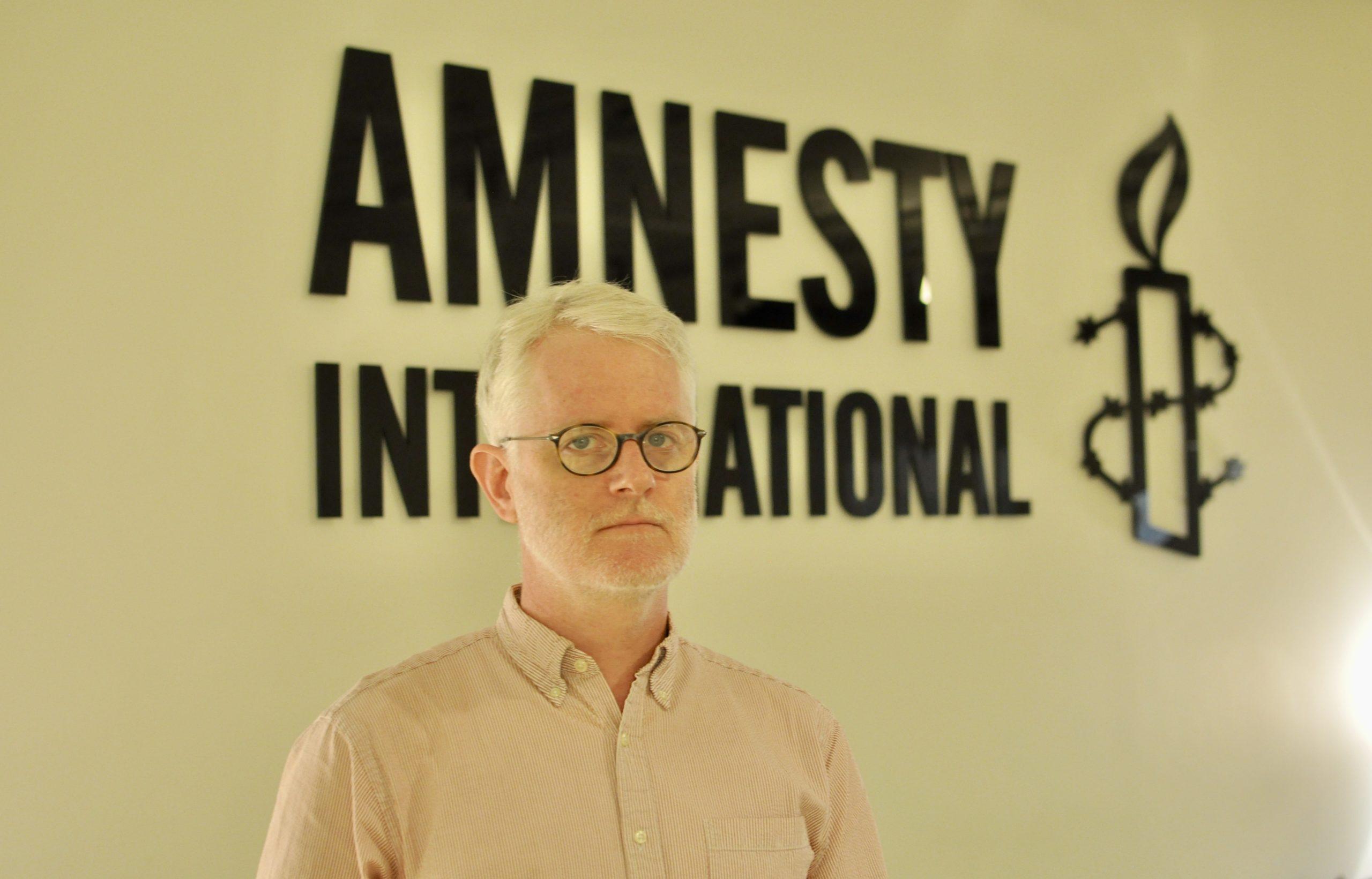 Joshua Rosenzweig, Amnestys Östasienchef