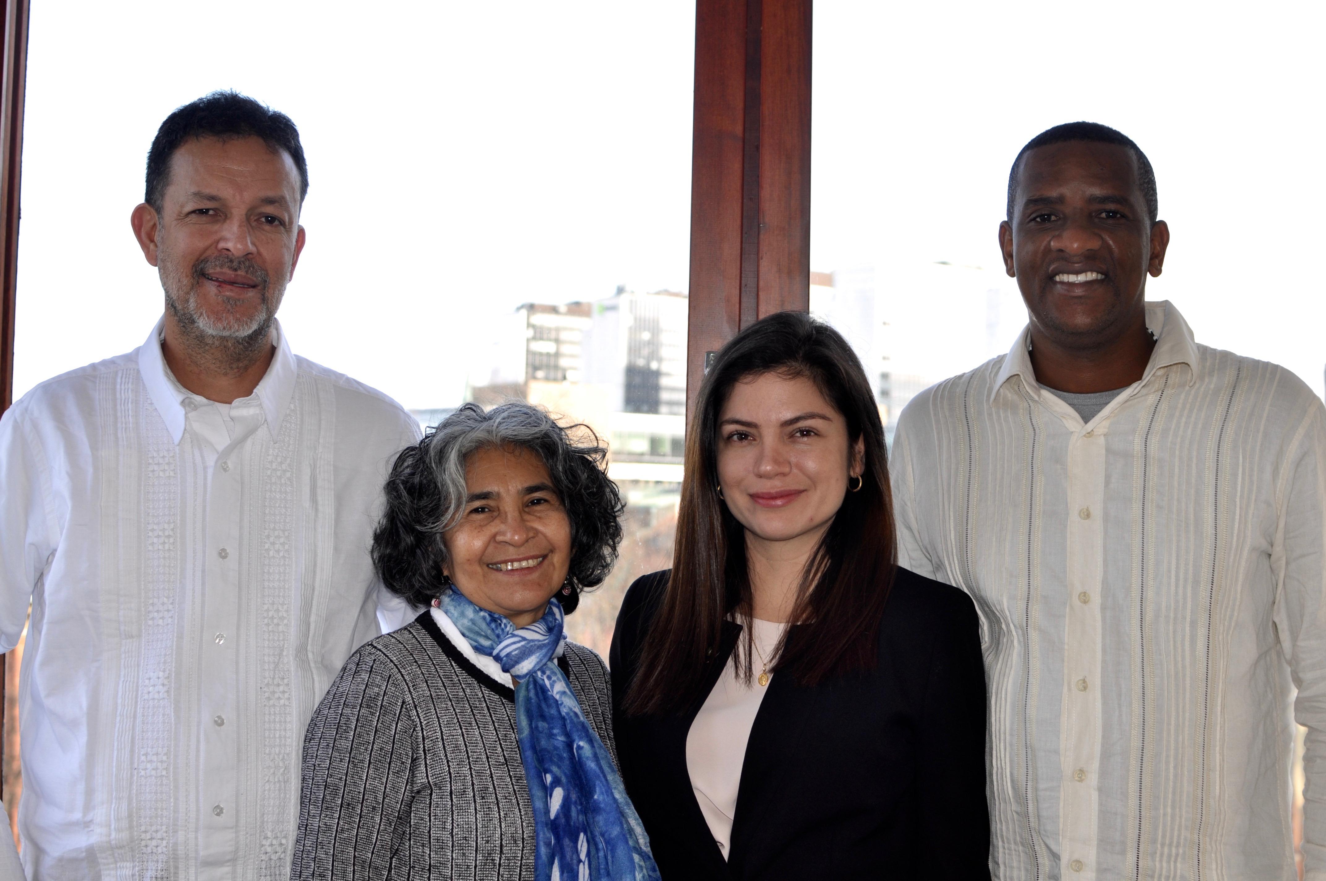 Människorättsförsvarare från Colombia