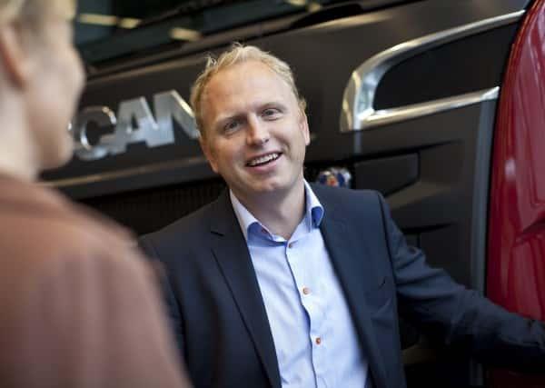 Scanias vd Henrik Henriksson