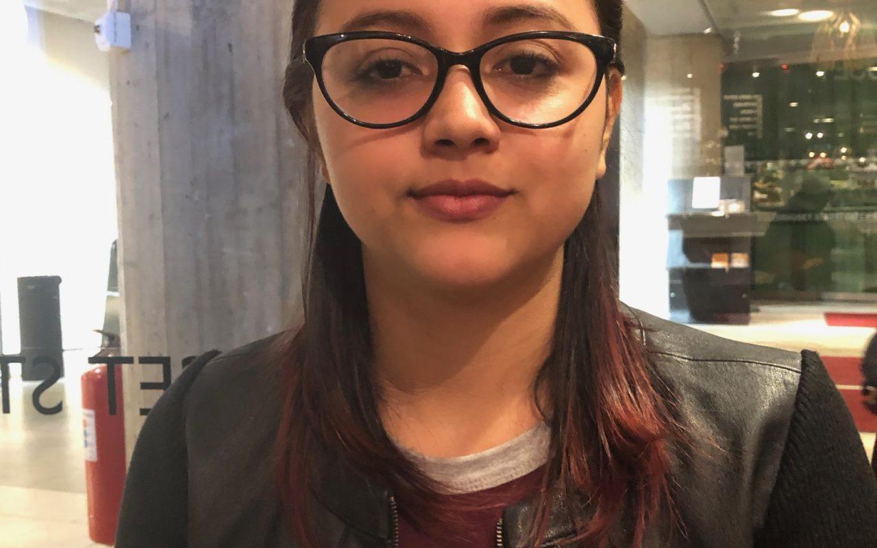 Den nicaraguanska studenten Gabriela Pichardo