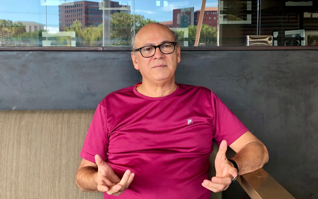 Den nicaraguanska journalisten Carlos Fernando Chamorro